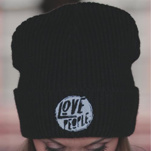 LOVE PEOPLE CHUNKY RIB KNIT BEANIE