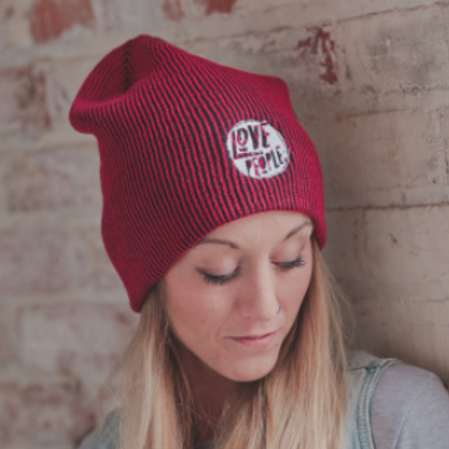LOVE PEOPLE SLOUCHY BEANIE