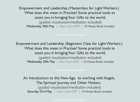 Zoom Seminars for this week