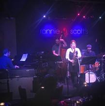 Alice Leggett Quartet at Ronnie Scotts 2018