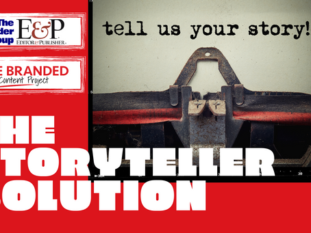 The Storyteller Solution: A webinar and turnkey sales opportunity for your company