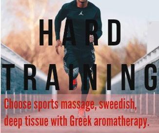 olympic athletes massage