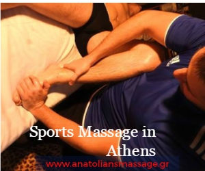 relaxing or sports massage in athens