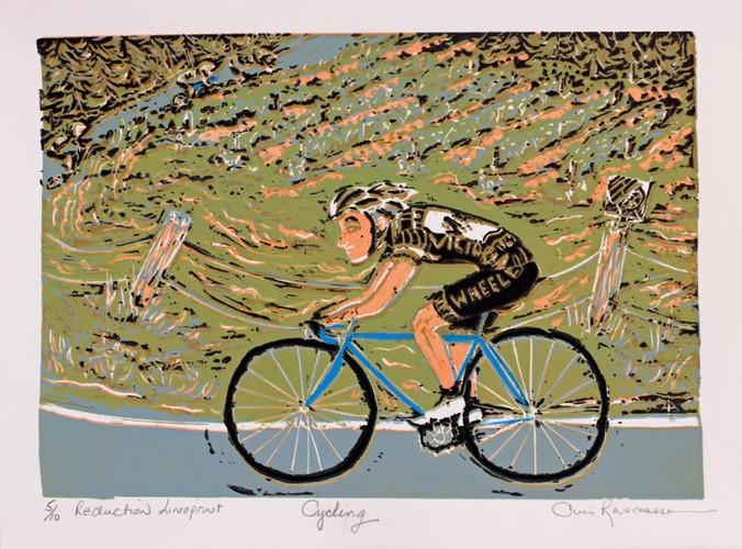 Cycling Cherry Point  V.I. B.C.
