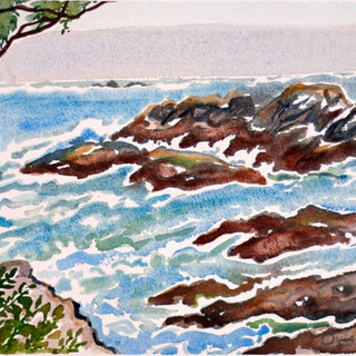 Pacific Fogbank, off Wickaninnish, Tofino