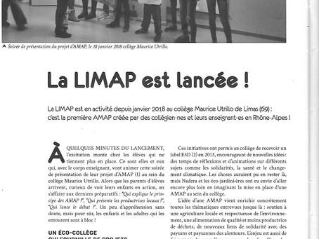 La LIMAP est lancée !