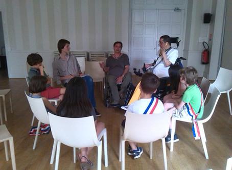 Quand les enfants parlent handicap et solidarité