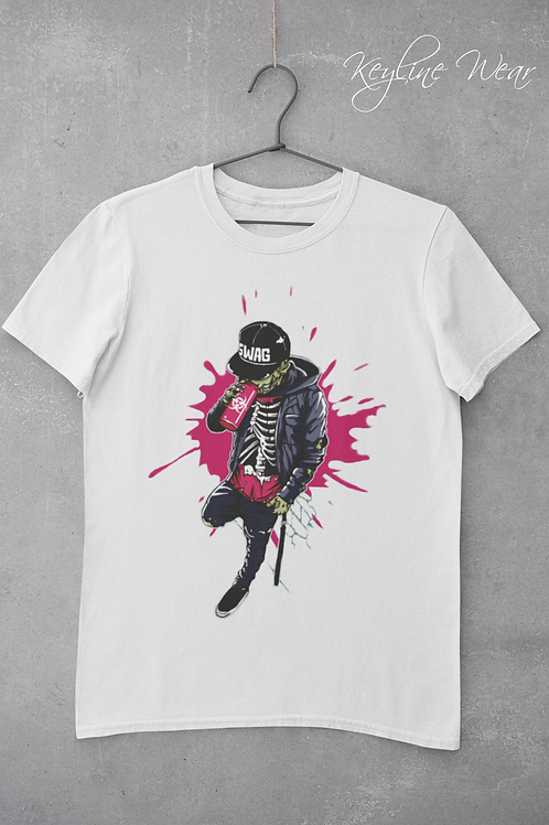 """Swag Zombie"" Keyline Wear Tee"