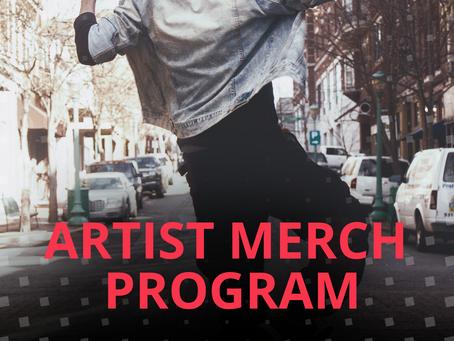 Artist Merch Branding Program