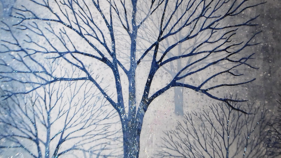 Bare Trees on Navy