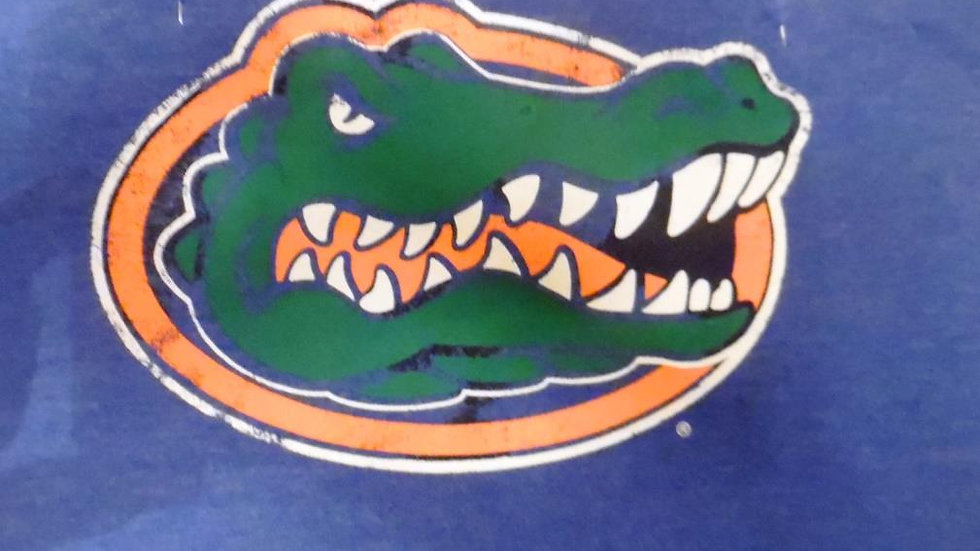 UF University of Florida Large Gator Head