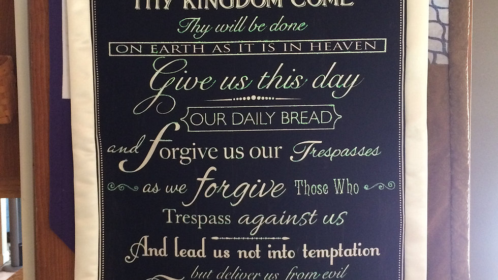 Chalkboard Prayer