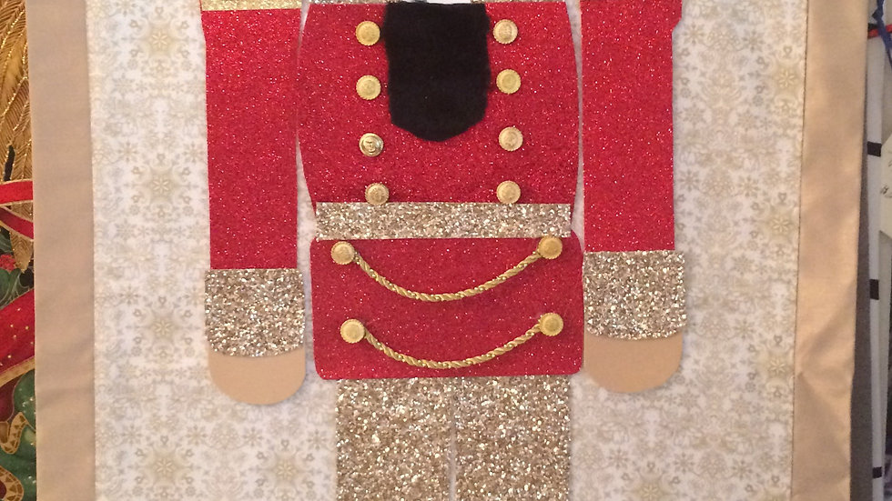 Red and Gold Nutcracker