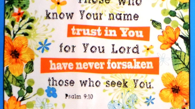 Trust in You Lord