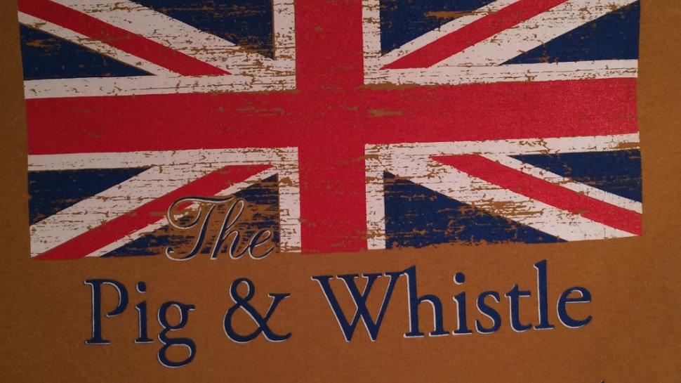 Pig & Whistle English Pub Cocoa Beach Door Shirt Banner