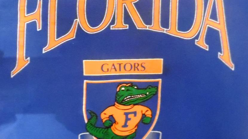 UF University of Florida Vintage Logo