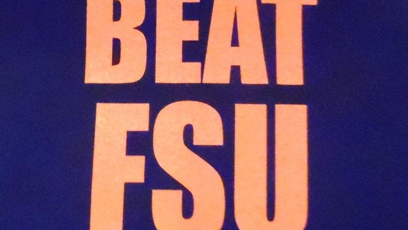 UF University of Florida Beat FSU