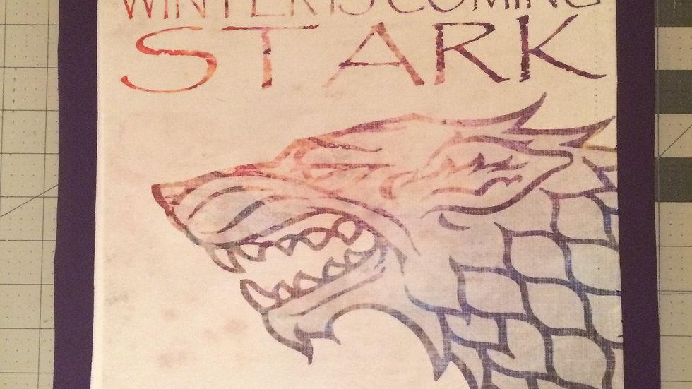 "House Stark ""Winter is coming"" GoT"