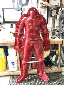 Full body fiberglass mold