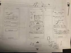 Mobile view prototypes