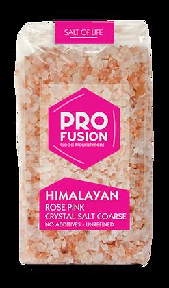Profusion Himalayan Rose Pink Crystal salt 500g