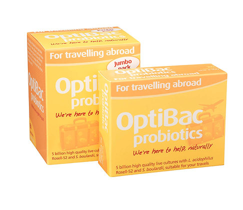 Optibac For travelling abroad 20 caps