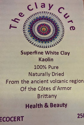 Superfine White Clay Kaolin