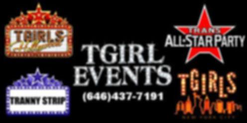 TGIRL EVENTS Homepage Logo