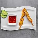 3. Satay chicken