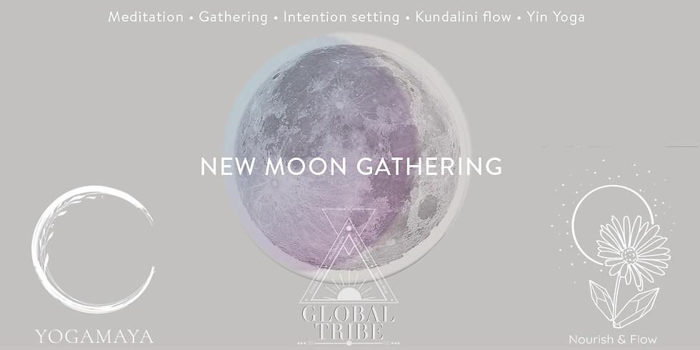 New Moon Gathering at Global Tribe