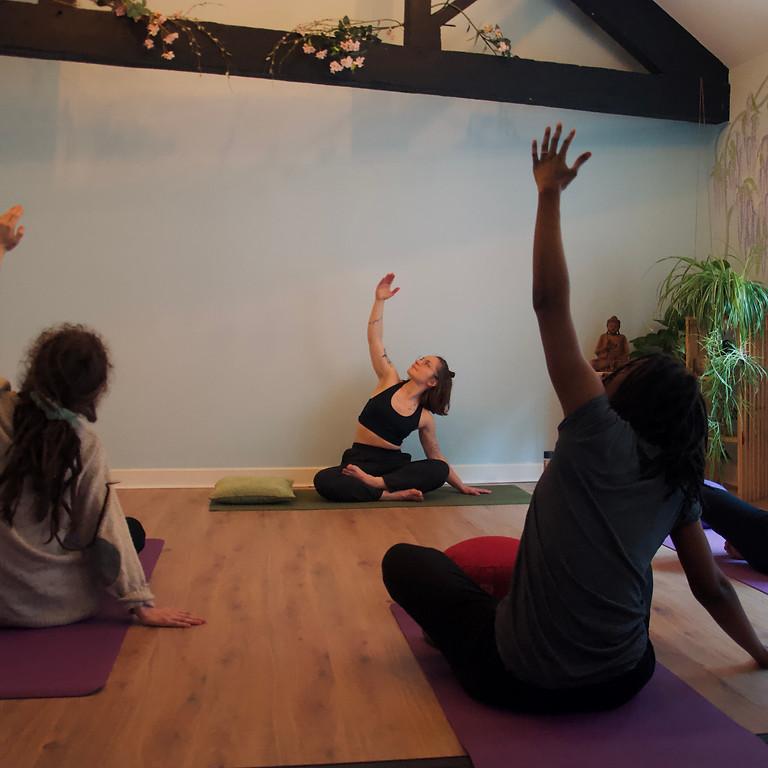Yoga for beginners /2h workshop