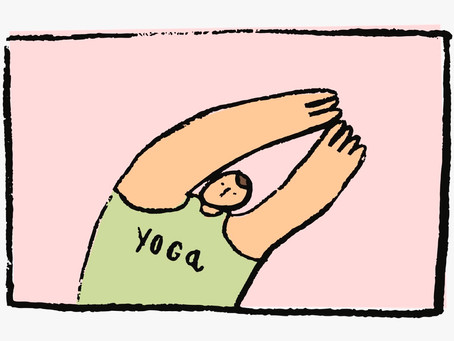 The difference between exercise and yoga