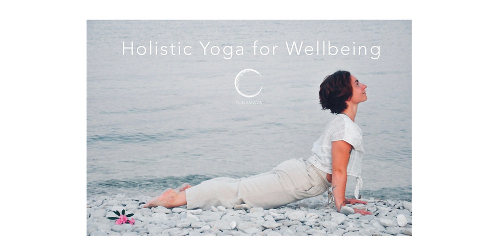 Holistic Yoga For Wellbeing - Face Yoga, Restorative Yoga and Taoistic Practice.