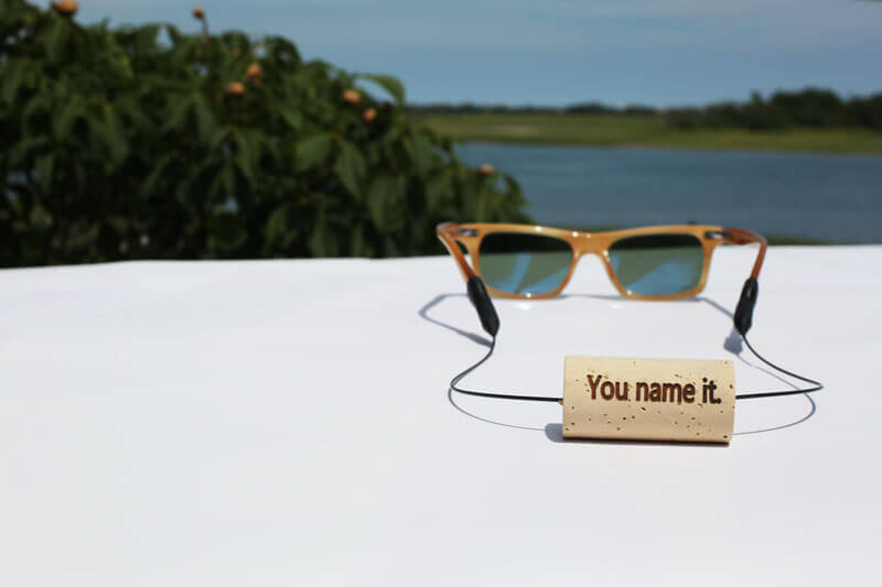 KORKZ floating wine cork eyewear retaine