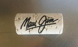 Laser-engraved custom wine cork for KORKZ floating eyewear retainer