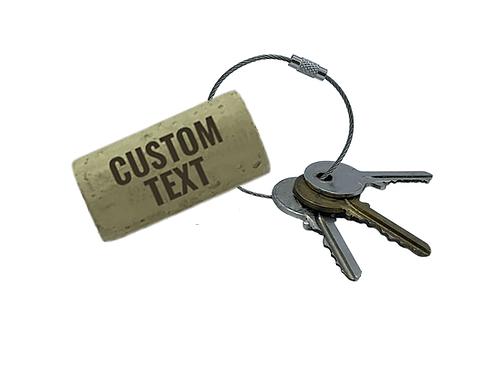 Custom Text Keyrings