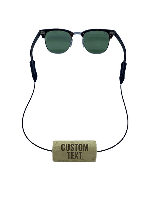Custom Text Floating Eyewear Retainers