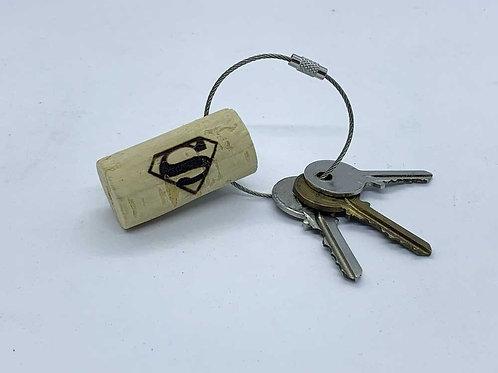 superman souvenir keyring