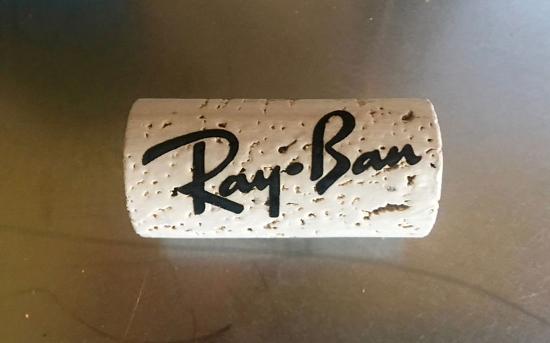 Custom Wine Cork Eyewear Retainer