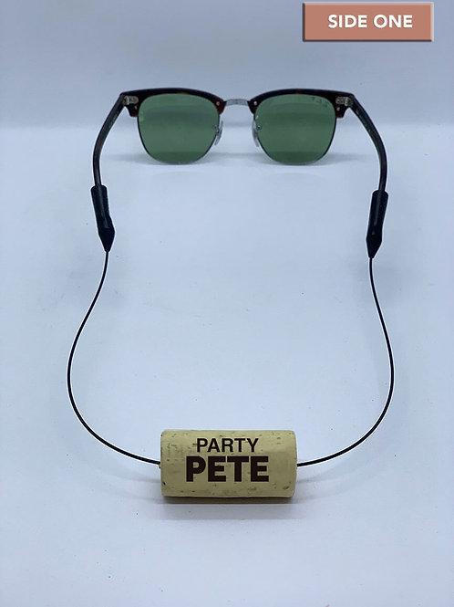 Party Pete Wine Cork Eyewear Retainer