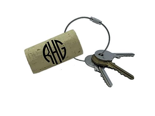 Custom Monogram Keyrings