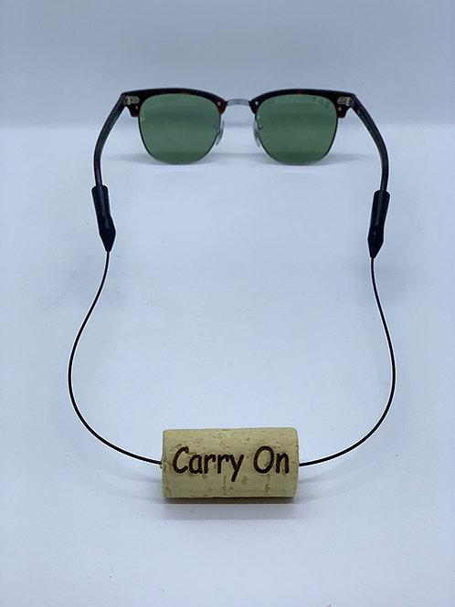 carry on wine cork eyewear retainer