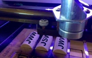 KORKZ Custom Sunglass Strap Laser Engraving