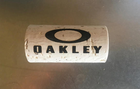 KORKZ Personalized Wine Cork Eyewear Retainer
