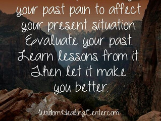 Moving Past the Pain