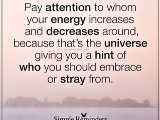 ENERGY...and my truth!