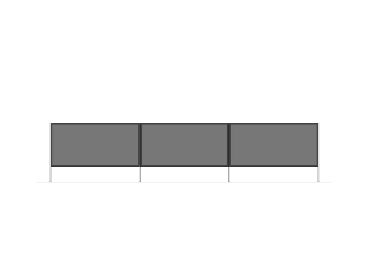 TV-Möbel offen   2100 x 470mm