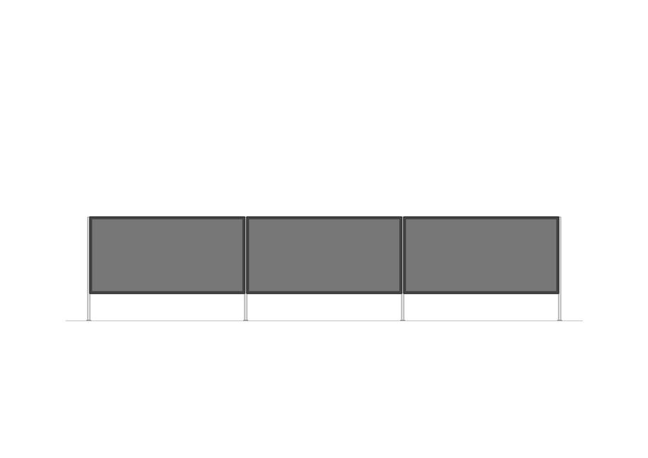 TV-Möbel offen | 2100 x 470mm