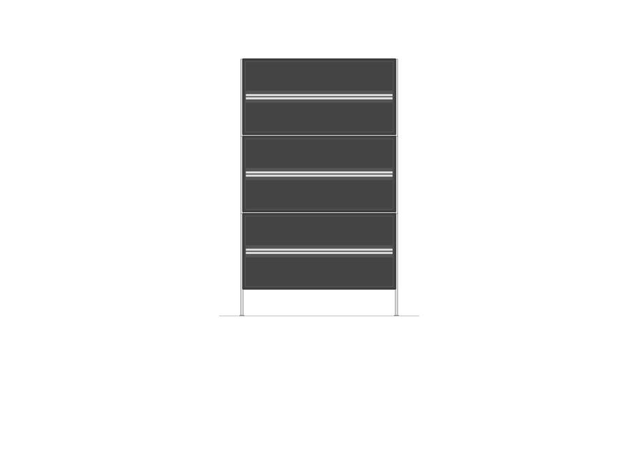 Kommode mit Schubalden | 700 x 1170mm