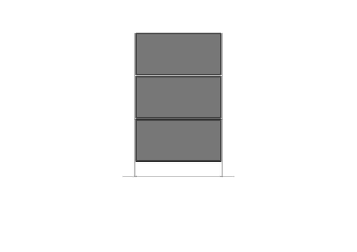 Kommode offen   700 x 1170mm